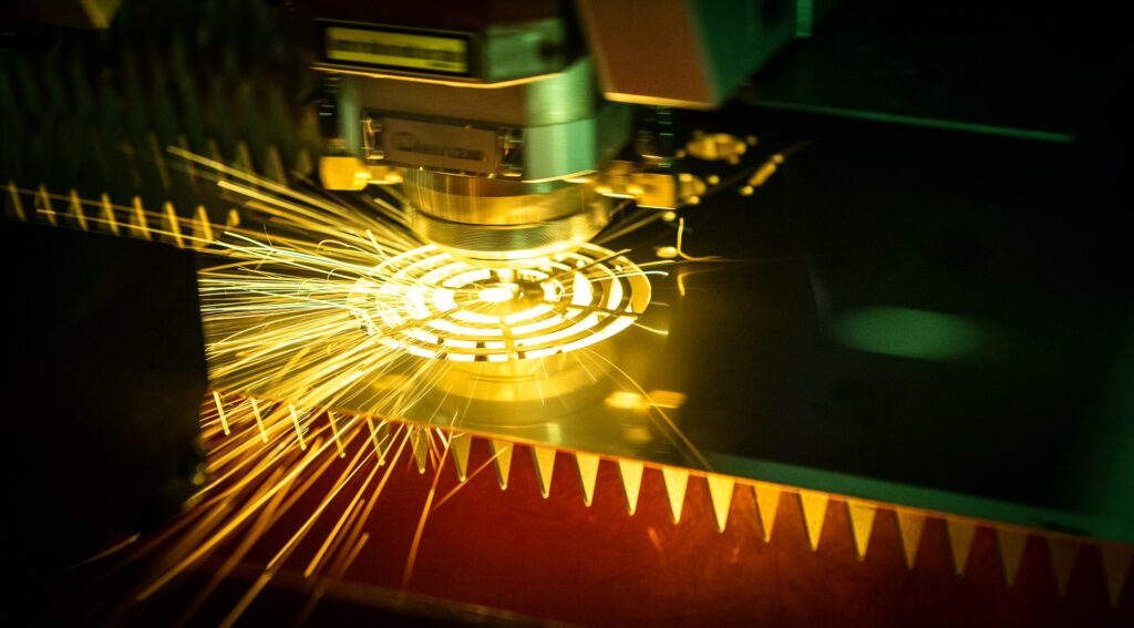 Tête laser de la marque Amada